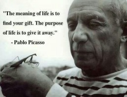 The Life Upgrades - Pablo Picasso Quote