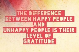 The Life Upgrades - Happy People are greatful